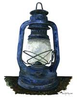 Hurricane Lantern : Antique oil lantern : 07