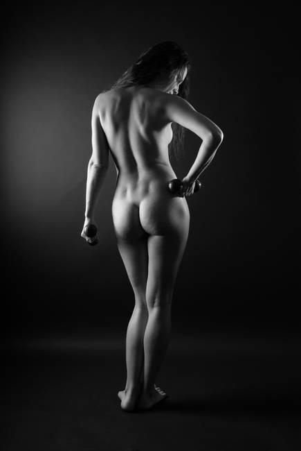 woman art nude