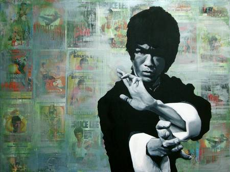 Bruce Lee by Ryan Jones