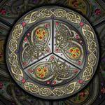Bejeweled Celtic Shield Posters