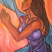 Praying Woman Art Prints & Posters by Brian & Leslie Sherrod