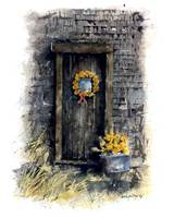 Barn entry door : 67