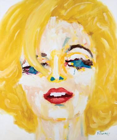 Portrait de Marilyn Monroe by Neal Turner
