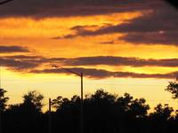 Streetlight at Sunset