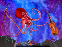 Octopus and fiddle