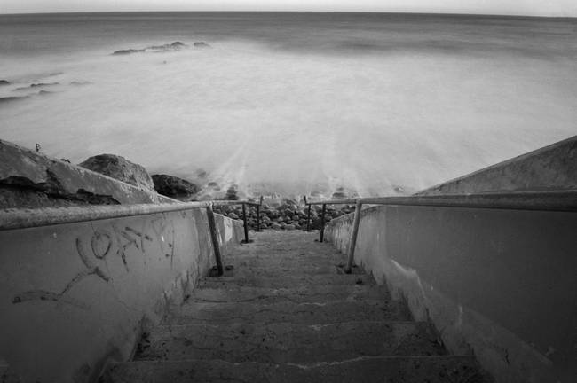 Stairway to the ocean
