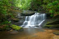 Hidden Falls - WNC Waterfall Photography