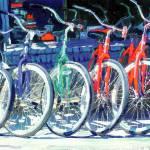 Bikes in a Row by RD Riccoboni by RD Riccoboni