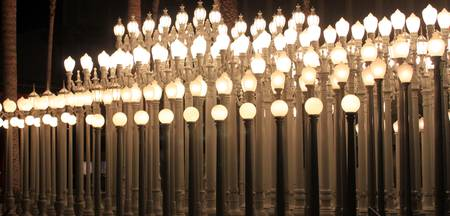 Lights At Los Angeles County Museum of Art 0766
