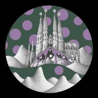 sagrada unfamiliar (olive sky) Art Prints & Posters by mix amylo