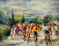 W H . Tour de France ,montventoux