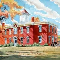 """Moore County Courthouse (Lynchburg, TN)"" by jeffatnip"