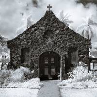 christ memorial episcopal church Art Prints & Posters by benjy m