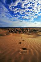 Glamis Footprints
