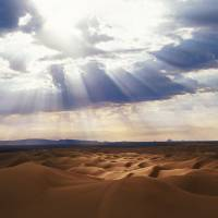 """Heavenly Light - Glamis Dunes"" by Shutterbug2"
