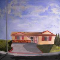 Pasadena House Art Prints & Posters by Derek Bliss