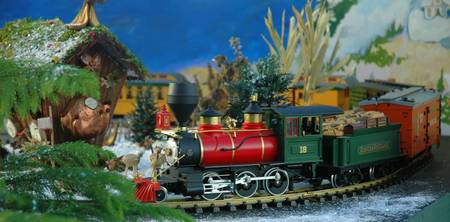 Toy Train at Christmas/ Lewis Ginter Botanical Gar