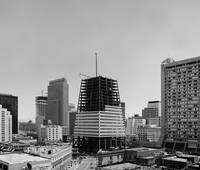 Transamerica Pyramid under Construction, San Franc