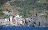 Vernazza by sea