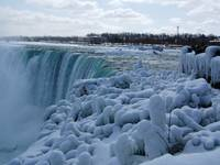 Niagara Winter Ice Formations