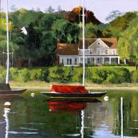 West Harbor Art Prints & Posters by Jarvis Wilcox