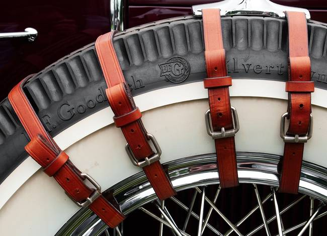 Rubber and Leather - 1929 Sport Phaeton Cadillac