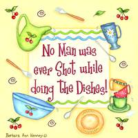 Men Do Dishes