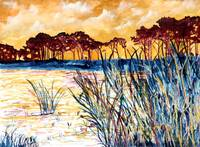 Corporate Art - Gulf Coast Landscape