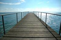 Jetty / Deck in Neuchatel Switzerland