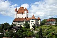 The Castle of Thun, Switzerland