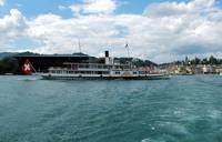 Steamboat on the Lake of Lucerne - Weggis
