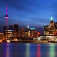 """""""Toronto Skyline Blue Hour"""" by jchau"""