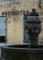 Aix Fountain Antiquities