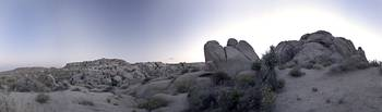 PANORAMA IN JOSHUA TREE