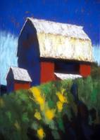 Red Barn with Ramp