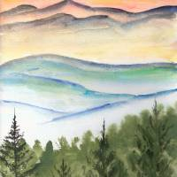 """blue ridge mountains"" by derekmccrea"