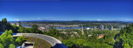 0186 Portland Oregon Panoramic