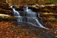Cagles Mill Falls #1 (IMG_8855a) by Jeff VanDyke
