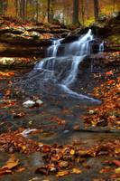 Cagles Mill Falls #5 (IMG_8868a) by Jeff VanDyke