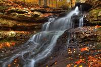 Cagles Mill Falls #7 (IMG_8874a) by Jeff VanDyke