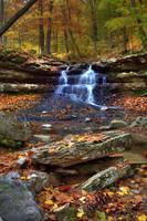 Cagle Mills Falls #11 (IMG_8892a) by Jeff VanDyke