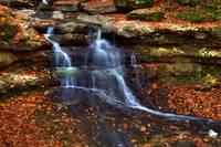 Cagle Mill Falls #13 (IMG_8908a) by Jeff VanDyke