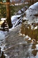Icy Steps (IMG_9304) by Jeff VanDyke