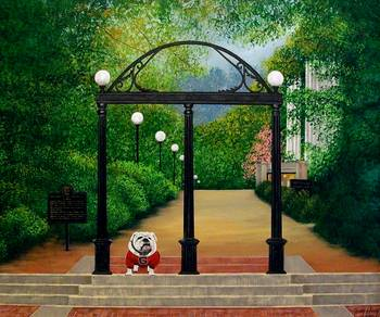 Uga Arch By Terry Huey