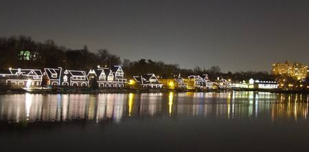 Philadelphia Boathouse reflections