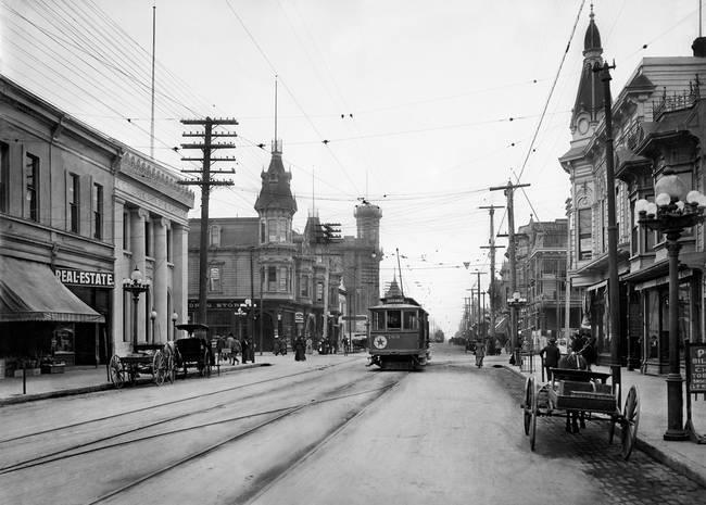 Park Street Alameda California c1910