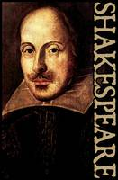William Shakespeare Portrait with Title