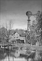 Bonneyville Mill Black & White