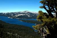 Courtright Reservoir, A view from the Dome #2