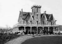 Marsh House, Martinez, California c1870 by WorldWide Archive